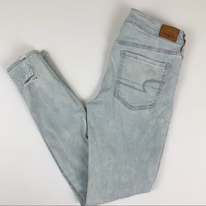 American Eagle Outfitters Distressed Jegging Jeans